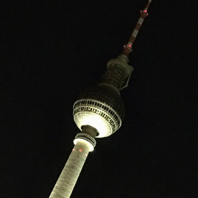 Mein erstes Mal alexanderplatz bei Nacht Ich liebe diese Stadthellip
