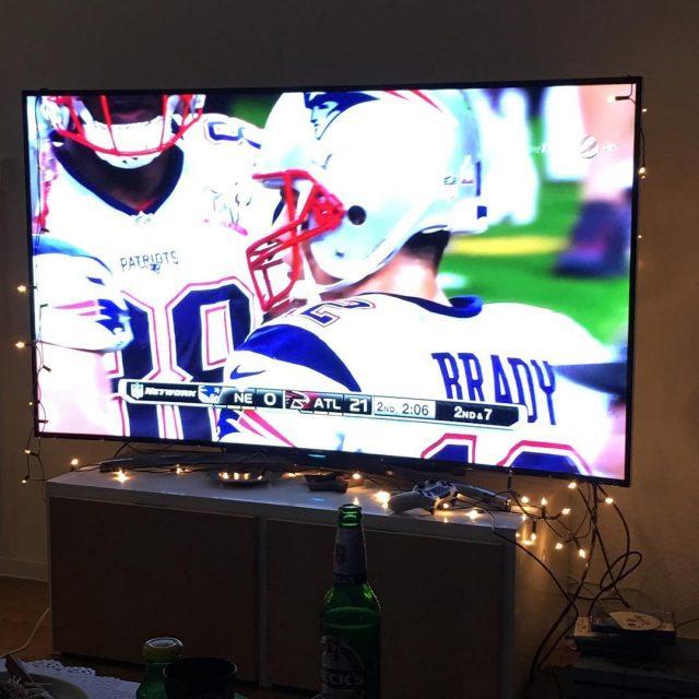 Wohohoooooooo Go Falcons Go Falcons! superbowl falcons patriots pats touchdownhellip