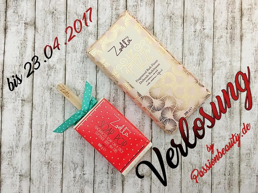 Verlosung Zoella Beauty - Le Fizz & Soap Pop