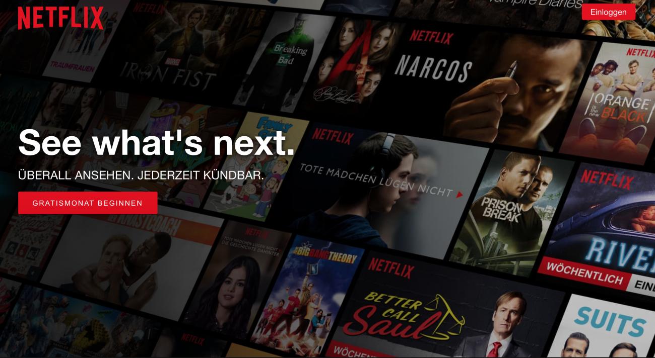 Netflix – Meine 6 Serienfavoriten