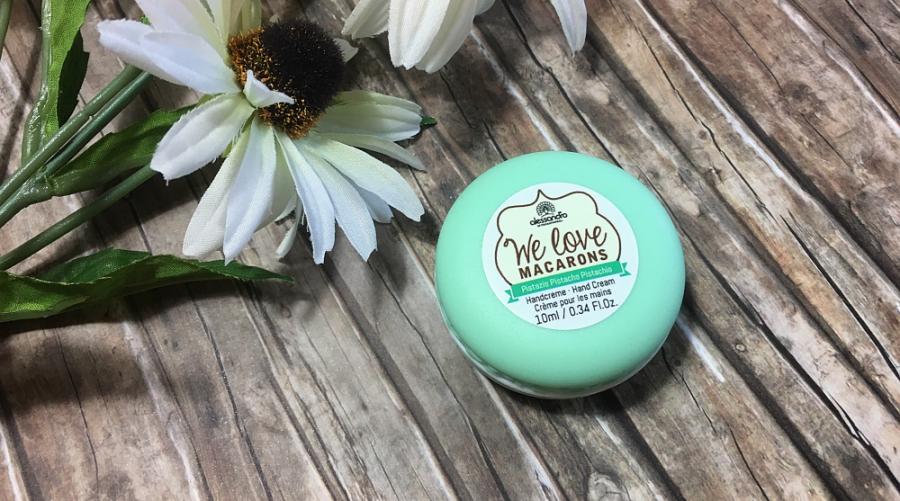 Alessandro – We love Macarons Handcreme