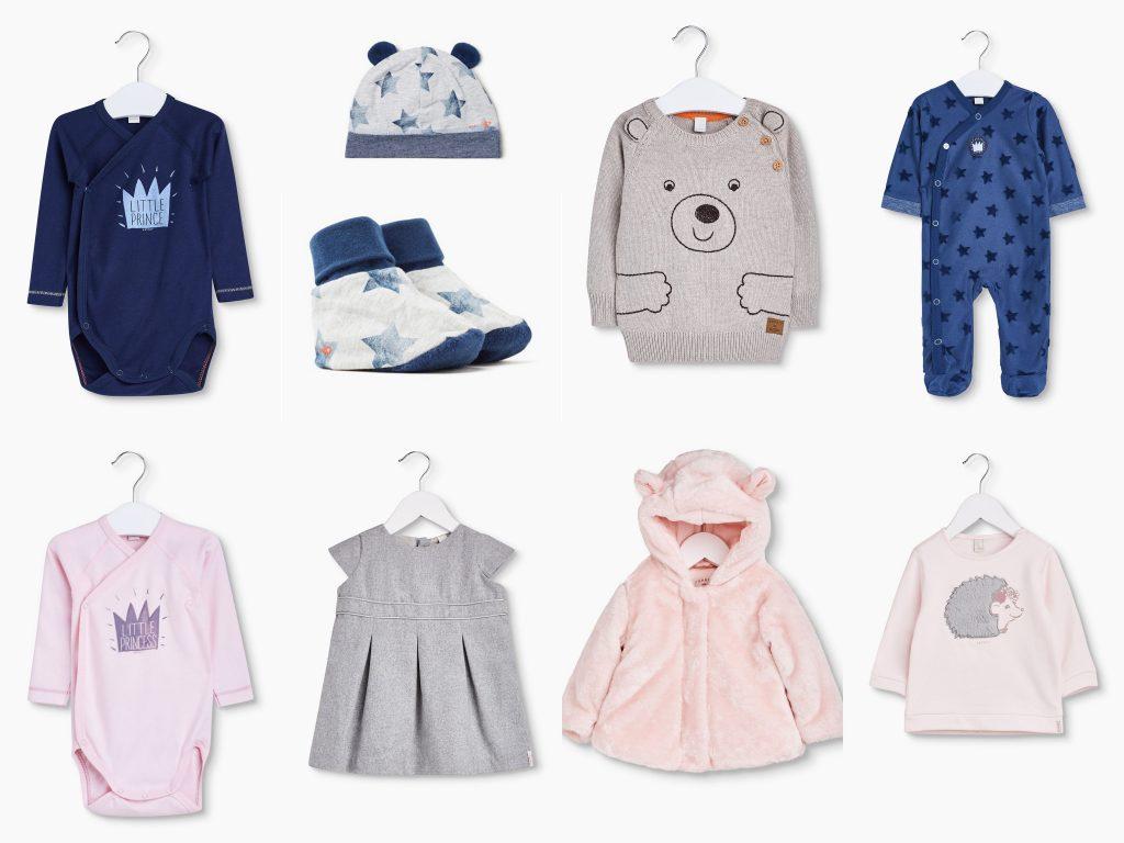 Eine riesen Auswahl an Babykleidung hat der Espritonlineshop.