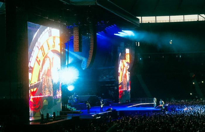 Ein wunderbarer Abend mit Guns N' Roses ging zu Ende.