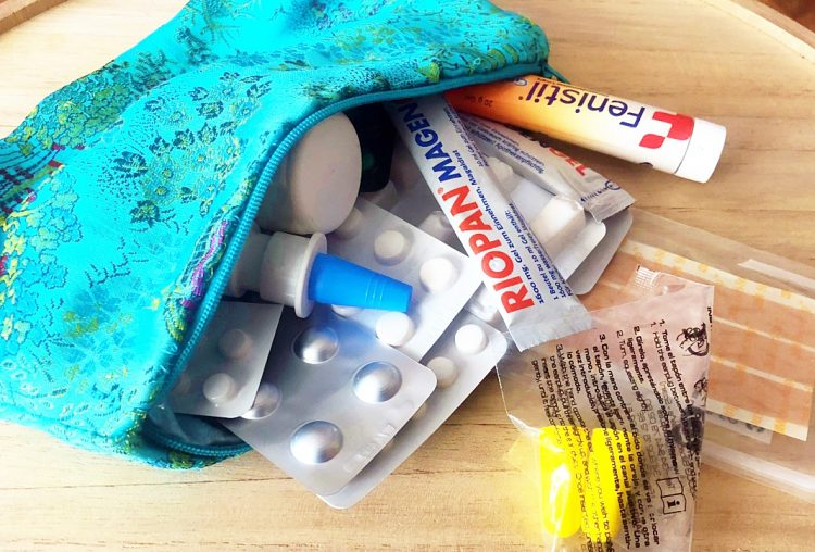 Die Reiseapotheke – Meine wichtigsten Medikamente für den Urlaub