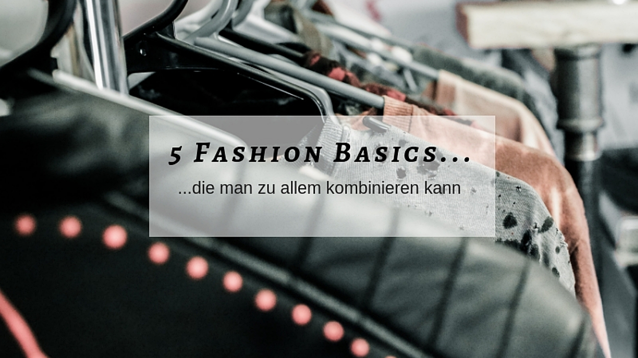 5 Fashion Basics