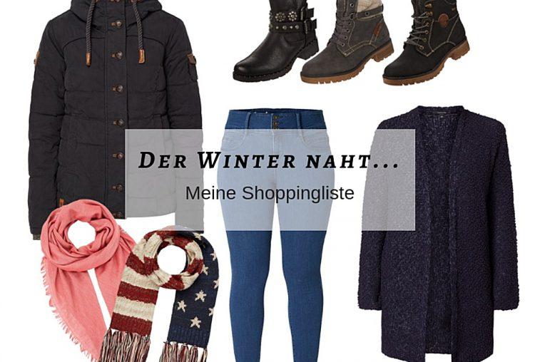 Der Winter naht… – Meine Shoppingliste