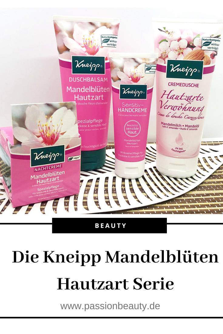 Ich stelle euch vier Produkte der Mandelblüten Hautzart Serie von Kneipp vor. Schaut vorbei!